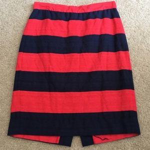 J. Crew Linen Pencil Skirt